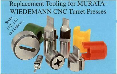 Wiedemann CNC Turret Press Tooling